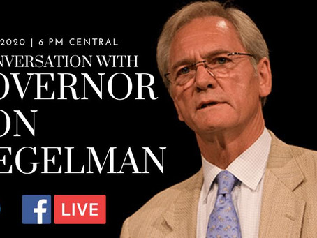 Governor Don Siegelman LIVE with AL Young Democrats on May 6, at 6 pm