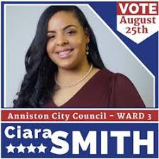 October Zoom with Ciara Smith, recently elected to the City Council