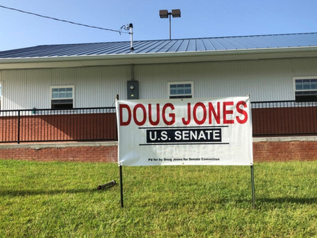 The Jim and Shirley Justice Center, HQ of the Calhoun County Democrats