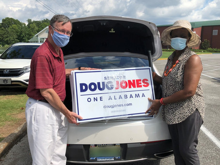 Senator Doug Jones yard signs!!