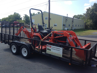Our New Kubota Tractor and Backhoe