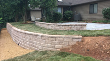 Watch this Time-lapse video of a retaining wall & patio installation!