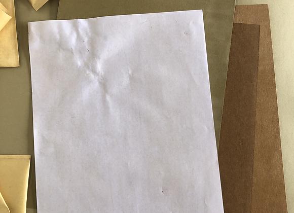 Water-resistant Paper