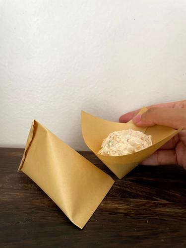 waterproof sustainable sauce packaging