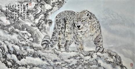 哈薩克斯坦雪豹