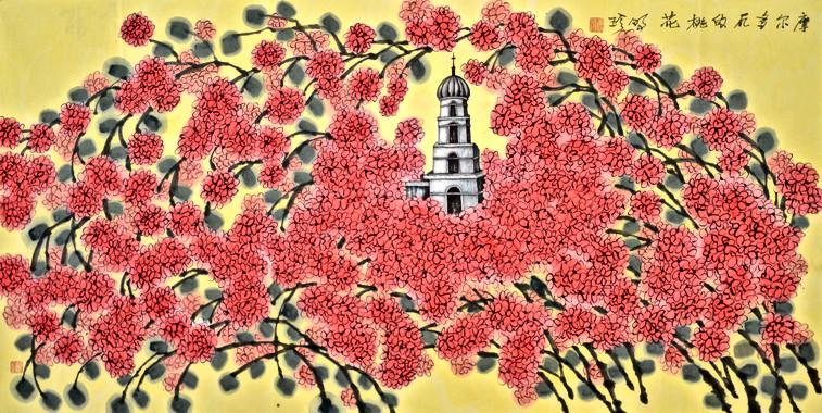 摩爾多瓦的桃花