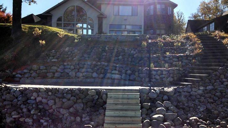 Lake Side Boulders