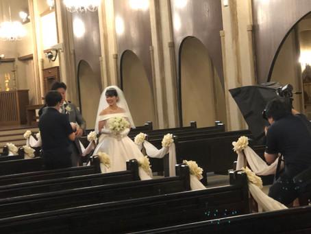 結婚式の【前撮り】☆彡