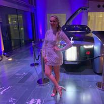 Rolls Royce performer Lara Olivia