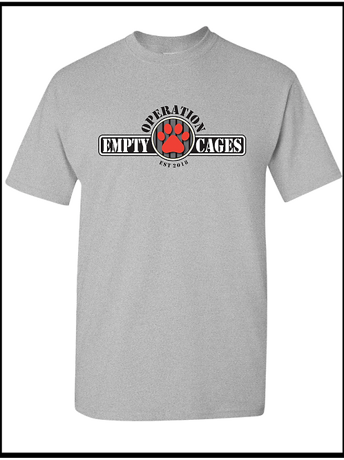 Operation Empty Cages Logo Tee
