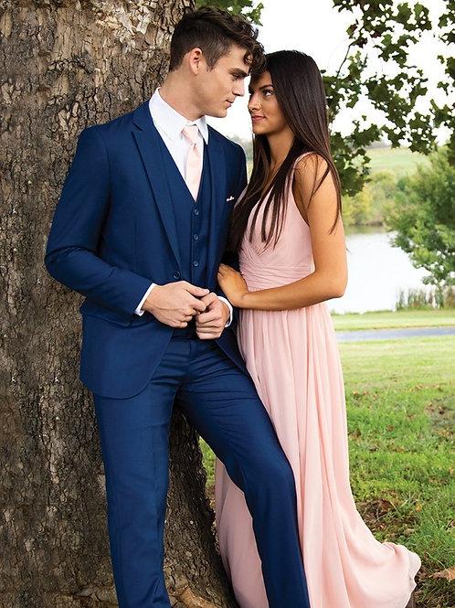 David Major French Blue Suit
