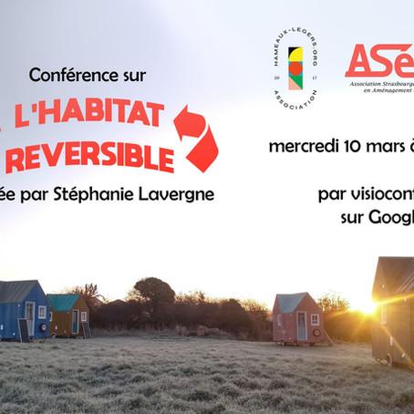 L'HABITAT REVERSIBLE - Conférence