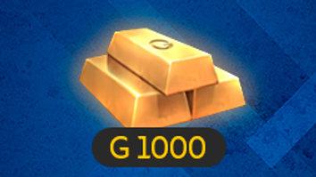 1000 ГОЛДЫ