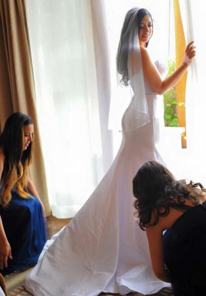 Santa Fe, New Mexico Four Season's wedding spread