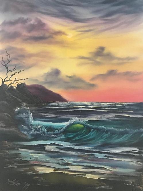 Die Welle (45x60)