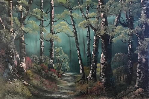 Birkenwald (40x60)