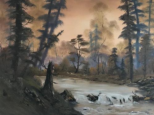 Bezaubernder Harzwald (60x80)