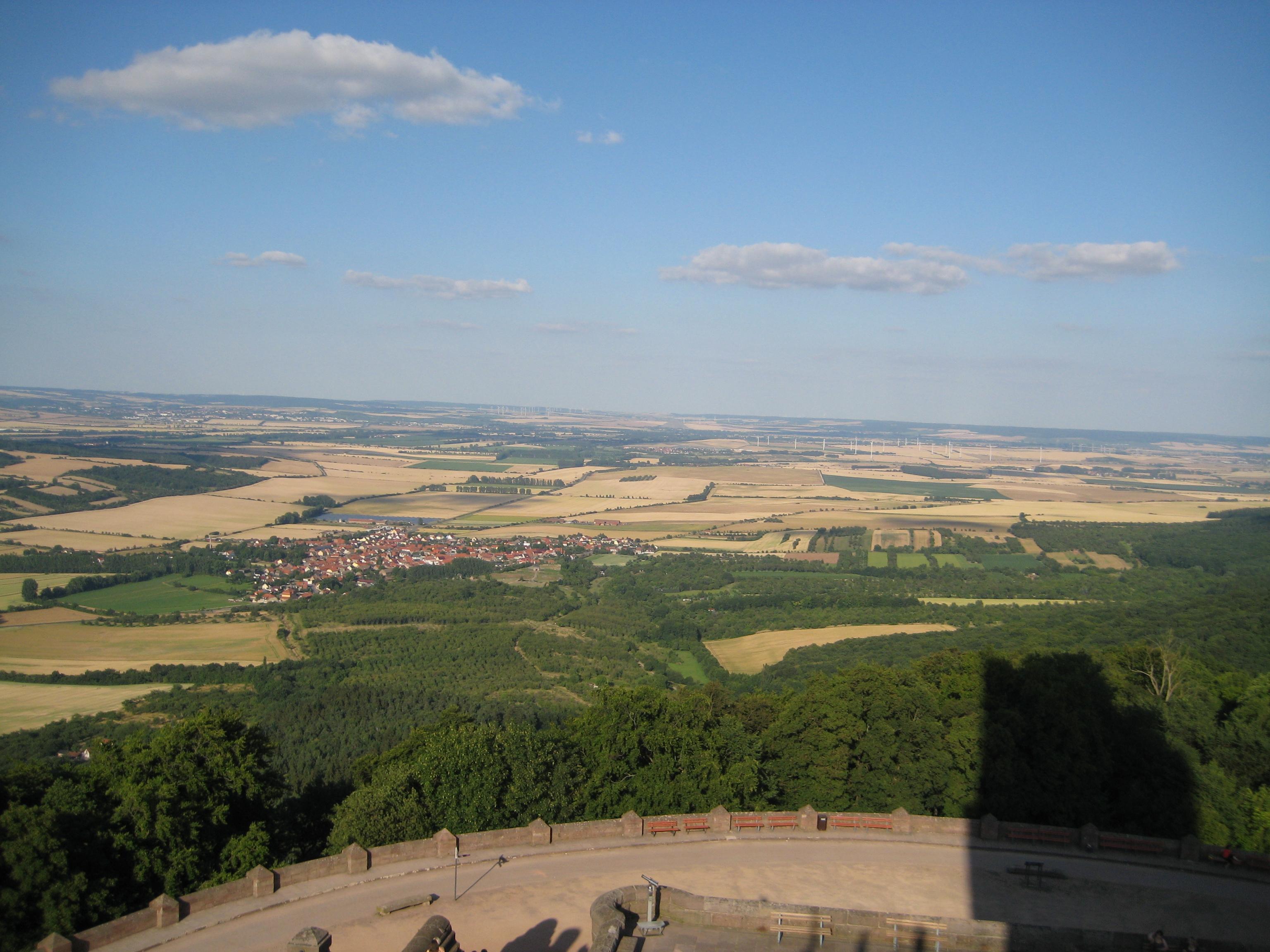 Umland des Kyffhäusergebirges