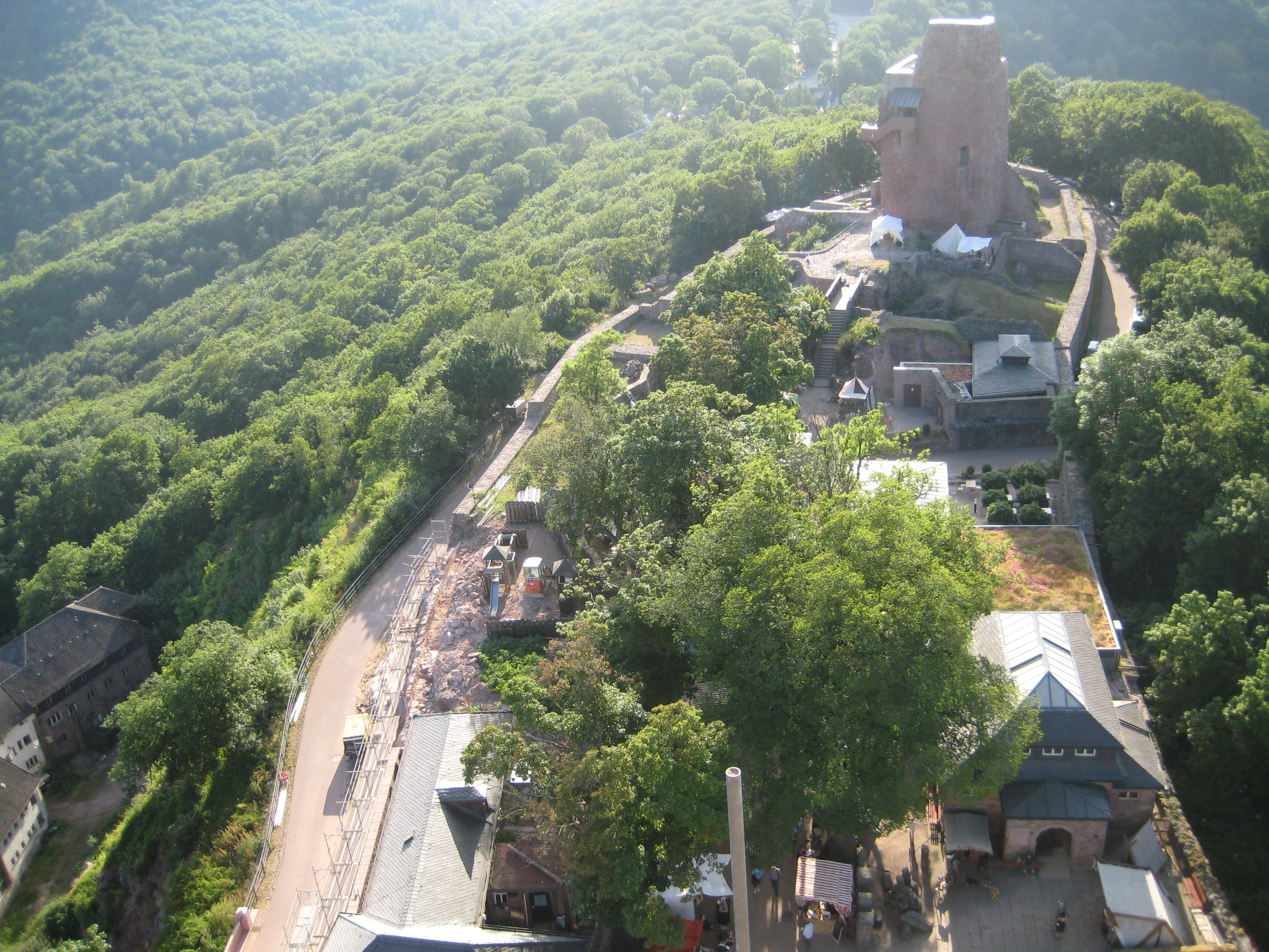 Ausblick vom Kyffhäuser-Denkmal