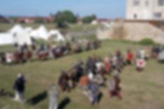 Mittelalterfest auf der Wasserburg in Heldrungen