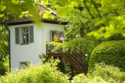 Gartenzinne in Schillers Garten
