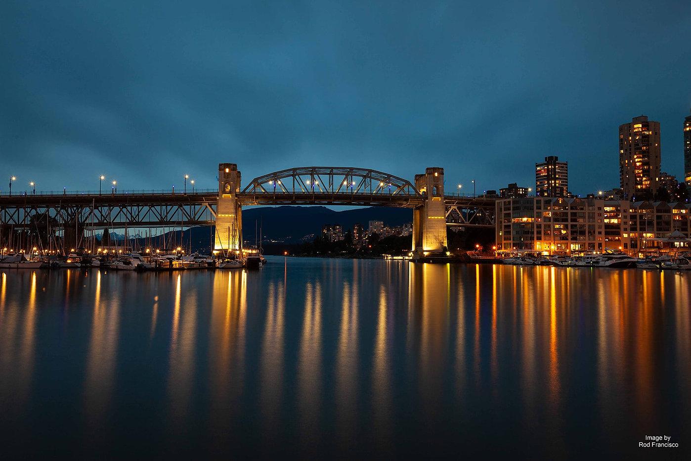 Burrard  Bridge by Rod Guevarra Francisc