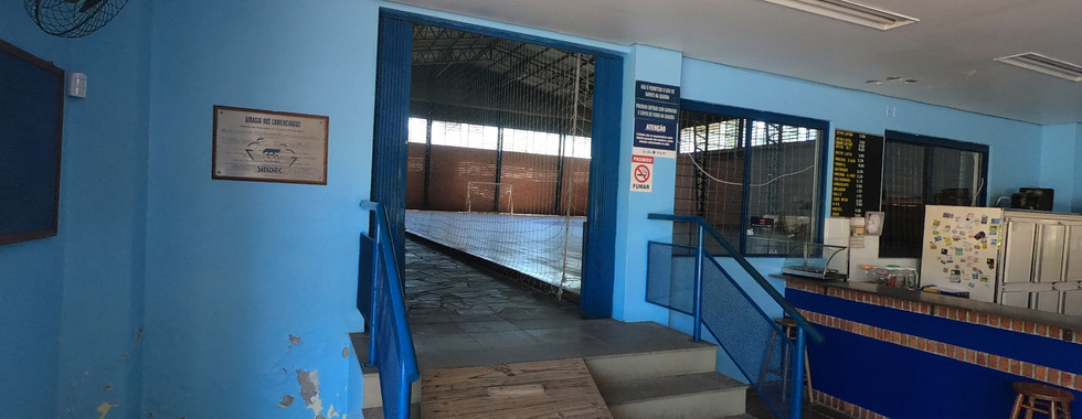 Enterance to Gym/Auditorium