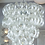 Thumbnail: Clear Murano Glass C Link Chandelier
