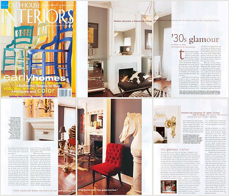 Greg Ventra And Mark Field S Home Featured In Old House Interiors Magazine