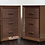 Thumbnail: Custom Lacquered Nightstands with Embossed Leather Drawer Fronts