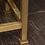 Thumbnail: Pair of Custom Shearling and Brass Stools