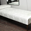 Thumbnail: Sleek Custom Daybed with Removable Pillow and Brass Legs