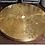 Thumbnail: Spectacular Round Etched Brass Cocktail Table with Agate Stone
