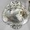 Thumbnail: 1940's French Venetian Style Oval Mirror
