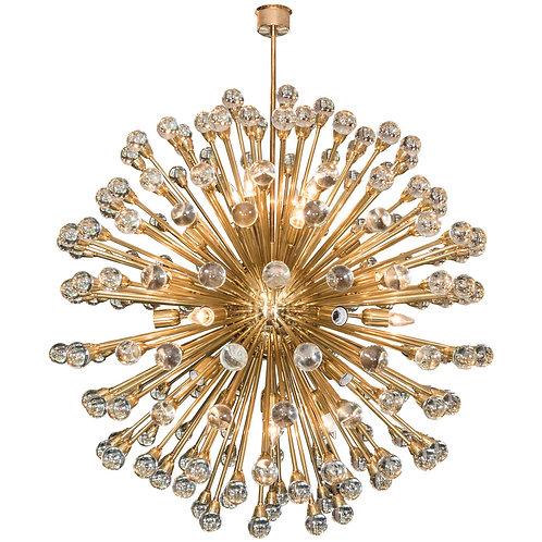 Huge Murano Glass Ball Sputnik Chandelier