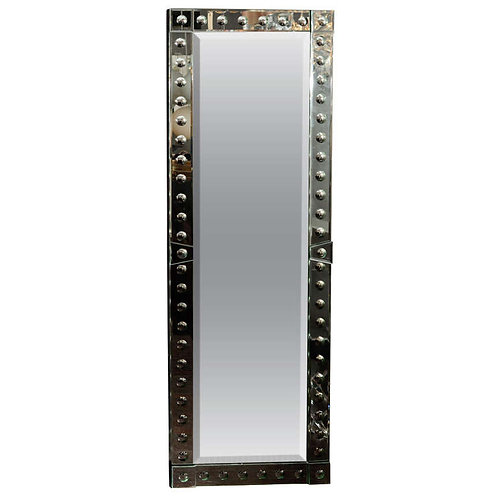 Ponti Full Length Mirror in Mirror Baguette Frame