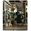 Thumbnail: Vintage 1940's Reverse Painted Mirror with Colonial Slaves