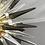 Thumbnail: Smoke and Clear Murano Glass Spike Sputnik Chandelier
