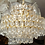 Thumbnail: Vintage Palwa Tear Drop Chandelier