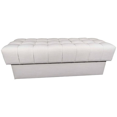 Fully Upholstered Tufted Bench