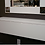 Thumbnail: White Reverse Painted Glass Wall Mount Sideboard