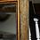 Thumbnail: Enormous Coco Fiber Mirror with Orange Goatskin Insert