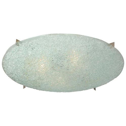 Dome Glass Flush Mount Light Fixture