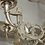 Thumbnail: 19th Century Nickel-Plated Bronze Chandelier