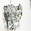 Thumbnail: Pair of Glamorous 1970s Kinkeldey Oversized Crystal Sconces