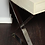 Thumbnail: Genuine Shagreen Desk with Polished Chrome X-Band Base