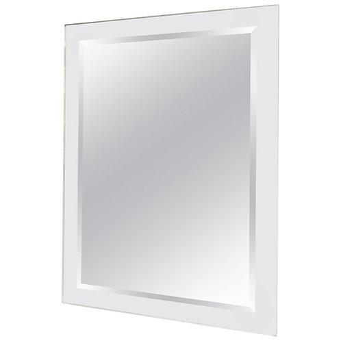 Mid-Century Modern Lucite Framed Mirror