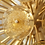Thumbnail: Golden Murano Mini Glass Disc Sputnik Chandelier