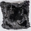 Thumbnail: Custom Double Sided Genuine Black Fox Pillow