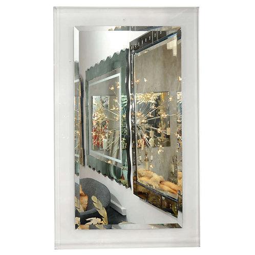 Custom Lucite Framed Mirror